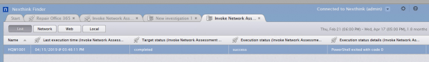Teams invoke network assessment tools - results1.png