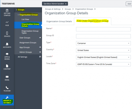 Deploying the Collector with AirWatch | Nexthink Documentation